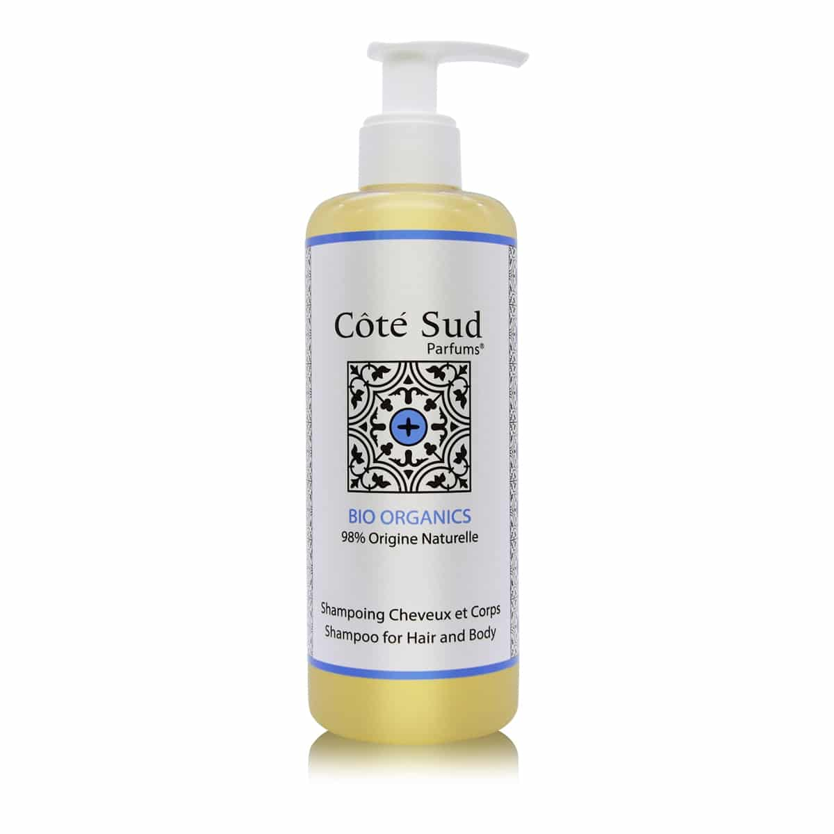Côté Sud Bio natural shampoo for hair and body