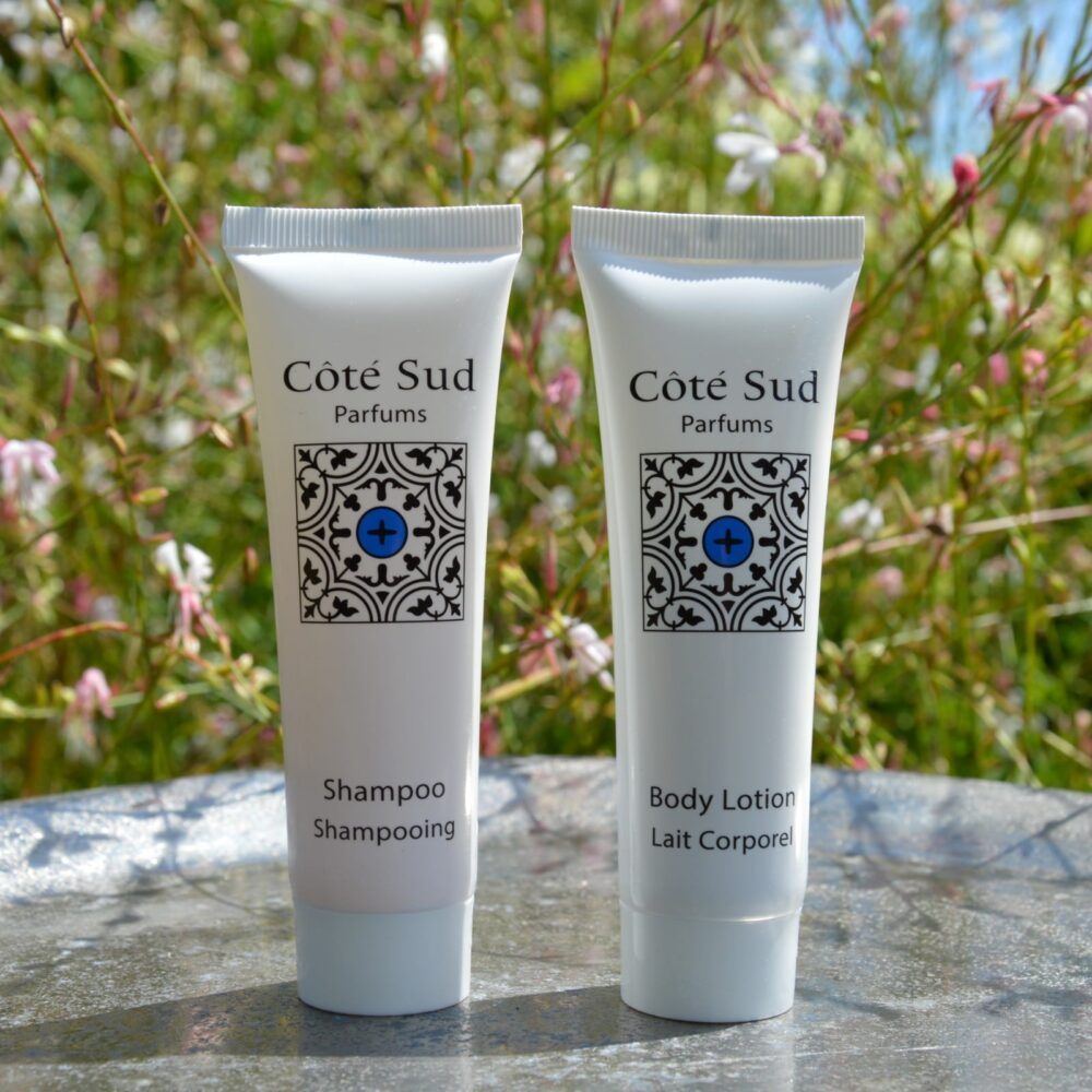 Shampoo & Body Milk Set | Côté Sud Parfums Collection