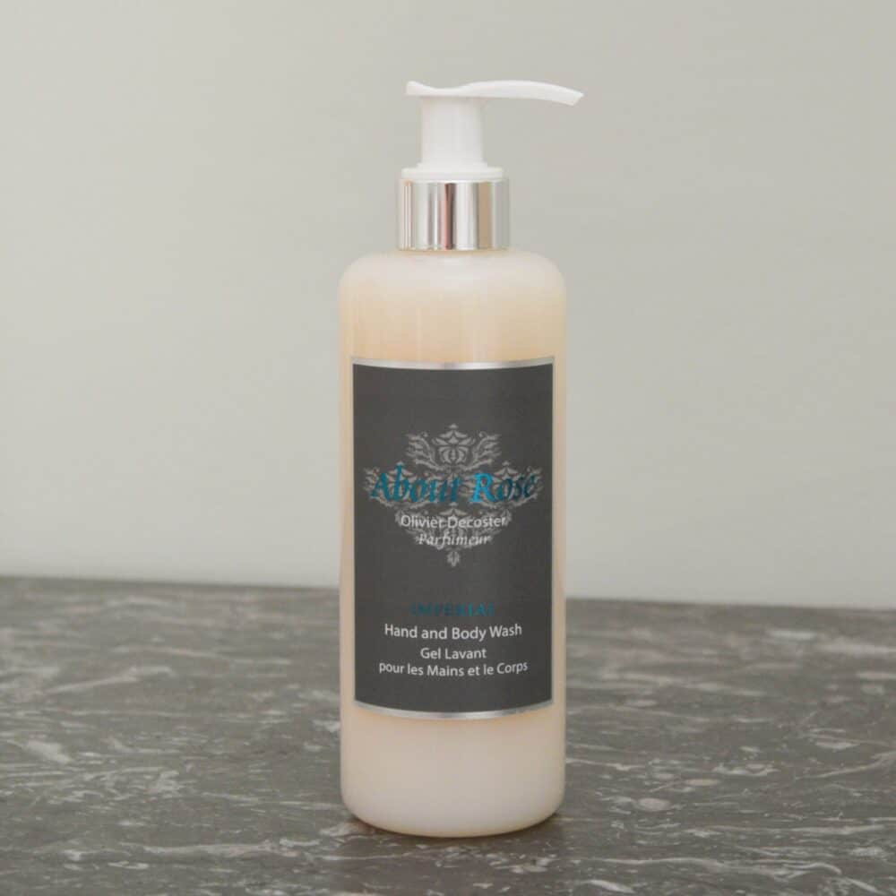 Hands and Body Wash Gel | About Rose Imperial | 300ml