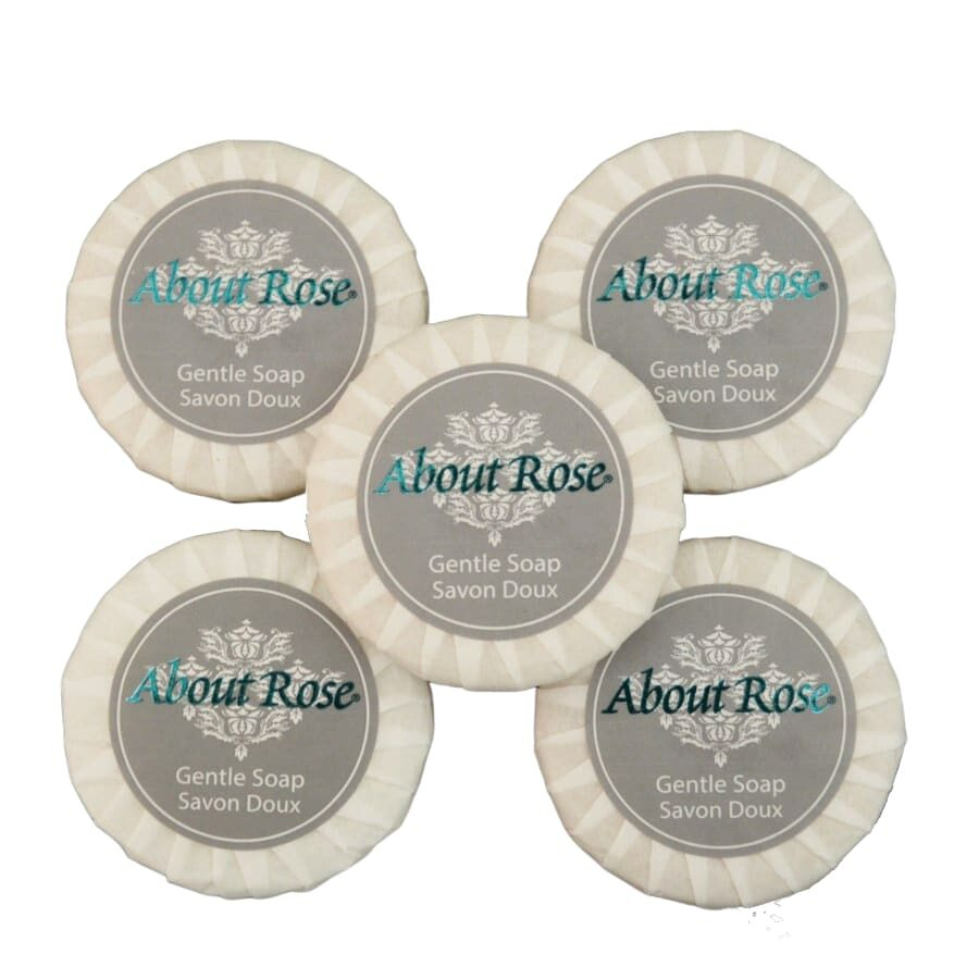 About Rose Imperial Gentle Soaps 5x20g