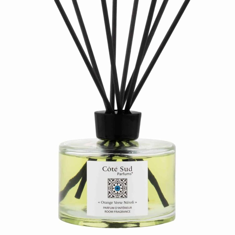 "Côté Sud Parfums Perfumed Reed Diffuser ""Orange Verte Néroli"""