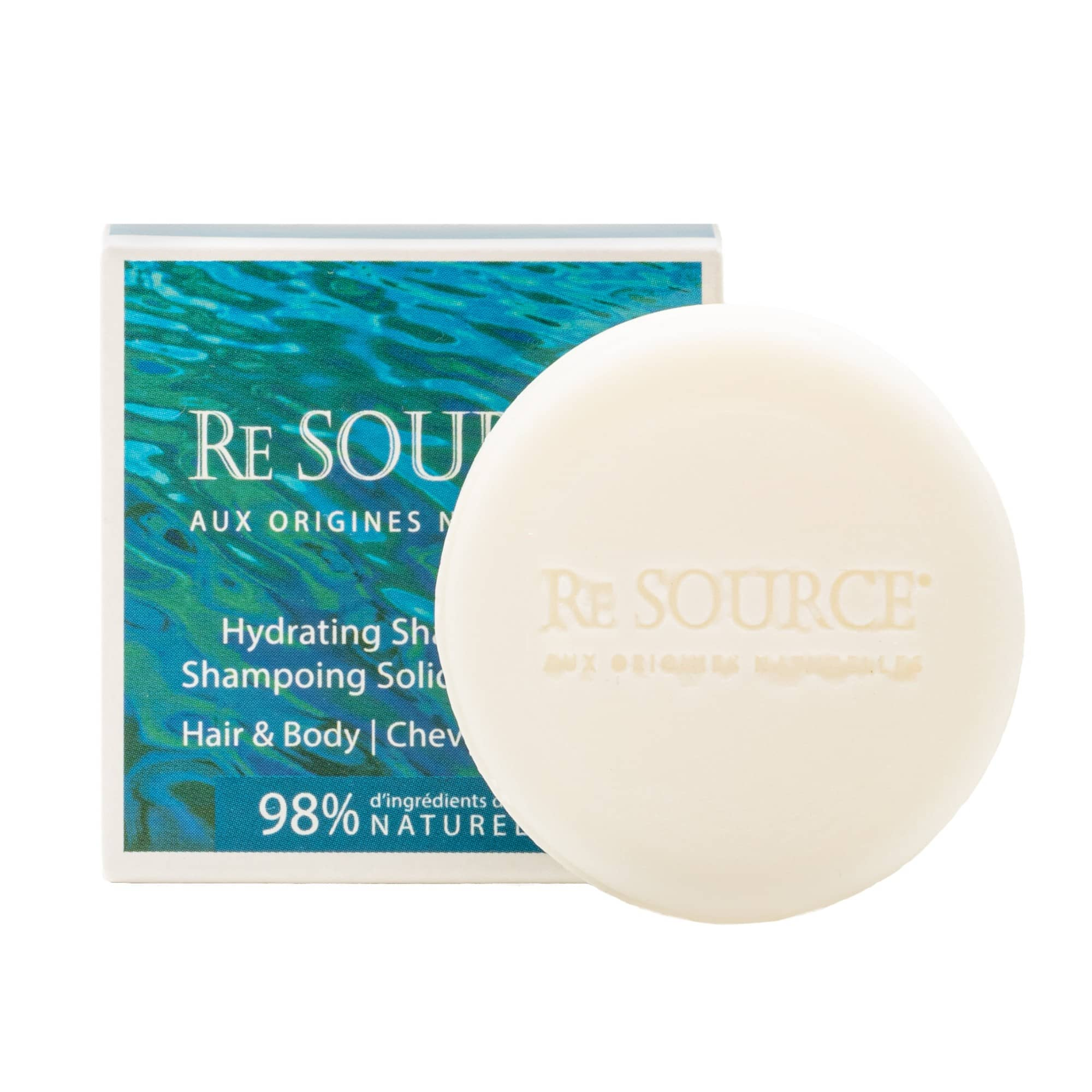 Shampoing Solide Naturel Hydratant | RE SOURCE